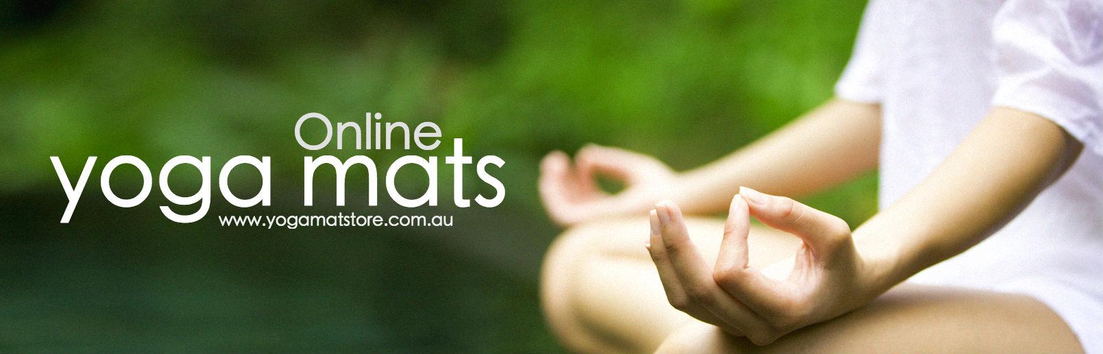 buy yoga mats online australia banner