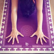 cuddlebugg mandala designer yoga mat