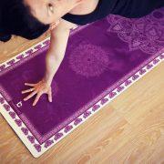 cuddlebugg mandala designer yoga mat 2