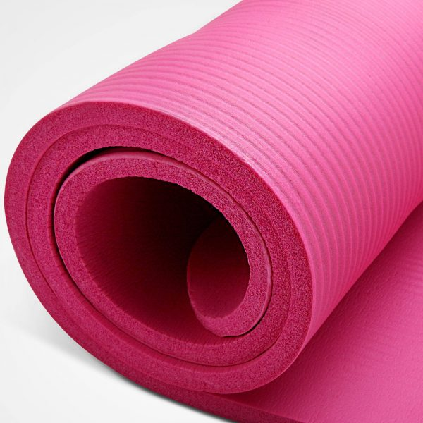 pink everfit yoga mat
