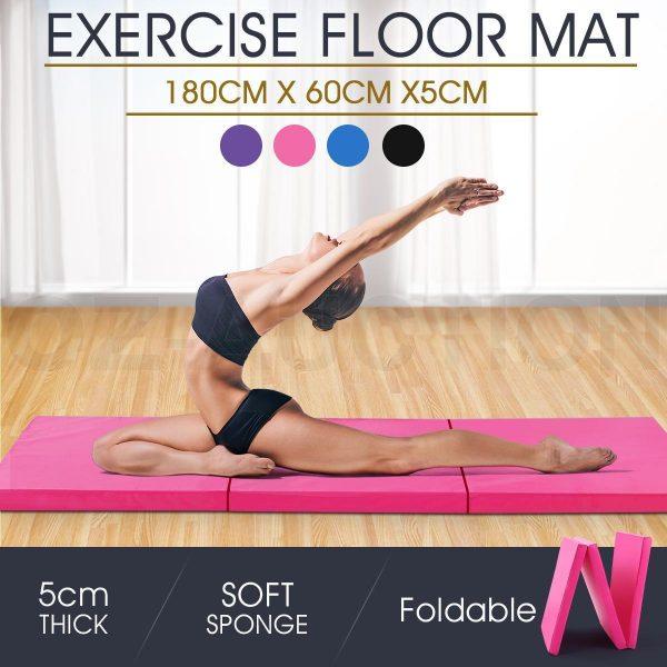 tri fold yoga mat