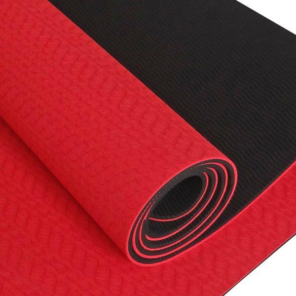 yoga mat red